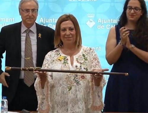 Candini, reelegida alcaldessa de Calella pels pèls