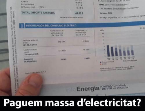 Com reduir la factura de la llum?