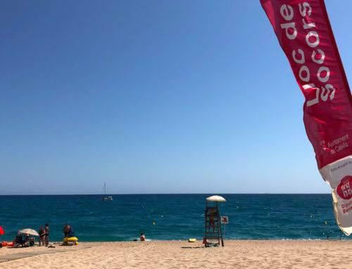 Mor un home de 79 anys a la platja de Garbí