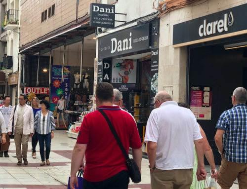 Continuen els robatoris a botigues de Calella