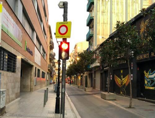 Els calellencs volen el carrer Jovara obert al trànsit