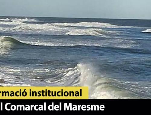 Meteomar alerta d'un dimecres amb fortes pluges, ventades i temporal marítim al Maresme