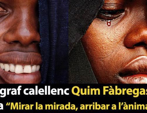 """El fotògraf calellenc Quim Fàbregas exposa """"Mirar la mirada, arribar a l'ànima"""""""
