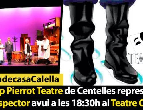 El Grup Pierrot Teatre de Centelles representarà avui L'Inspector al teatre Orfeó