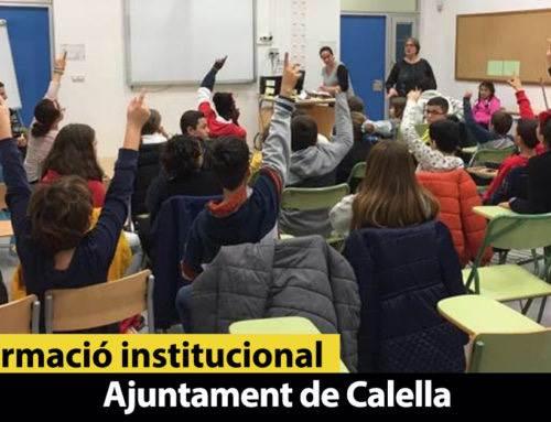El Consell dels Infants treballa el medi ambient i la sostenibilitat a Calella