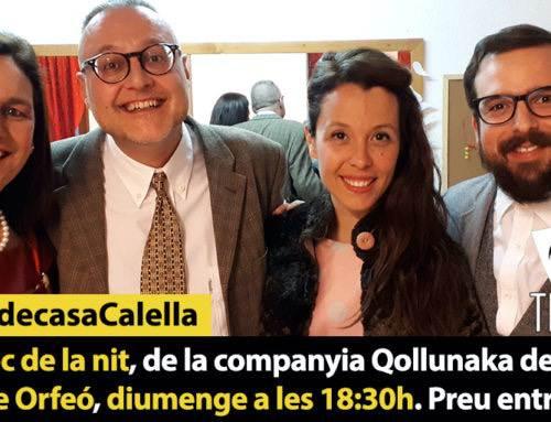 L'últim joc de la nit, de la companyia Qollunaka de Terrassa, al Teatre  Orfeó, diumenge 18:30h