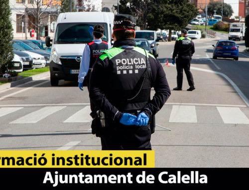 La Policia fa 2 detencions i 6 noves denúncies per trencar el confinament contra el coronavirus