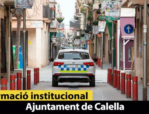 La Policia Local posa 12 denúncies per incomplir el confinament pel coronavirus