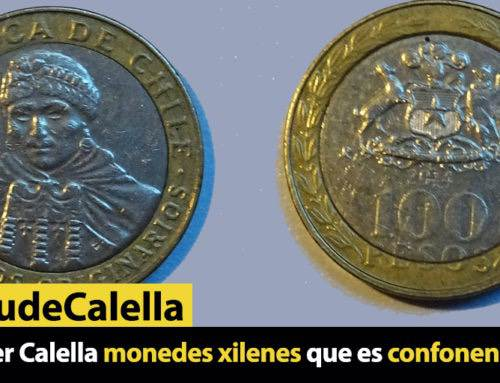 Circulen per Calella monedes xilenes que es confonen amb euros