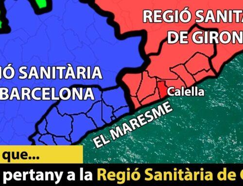 Sabies que Calella pertany a la Regió Sanitària de Girona?
