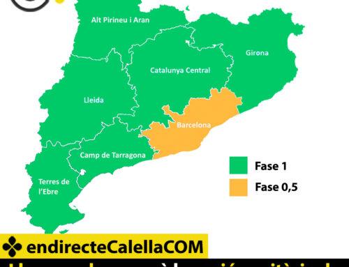 Llum verda perquè la regió sanitària de Girona, on s'inclou Calella, passi a fase 1