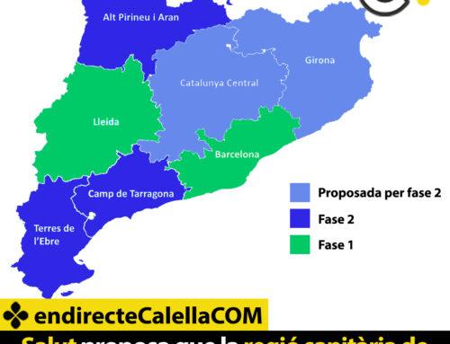 Salut proposa que la regió sanitària de Girona, on s'inclou Calella, passi a la fase 2