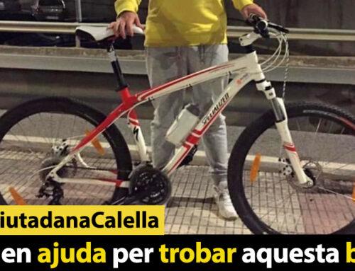 Demanen ajuda per trobar aquesta bicicleta