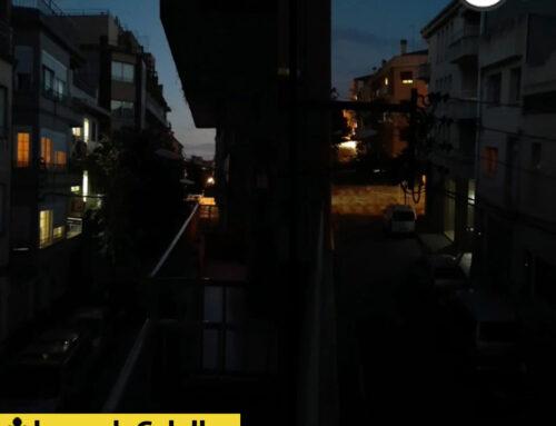Sense llum al carrer Sant Antoni