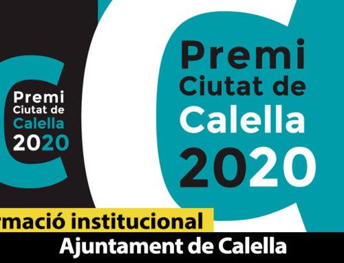 L'Ajuntament dedica el Premi Ciutat de Calella a les víctimes de la COVID-19, voluntaris i personal sanitari