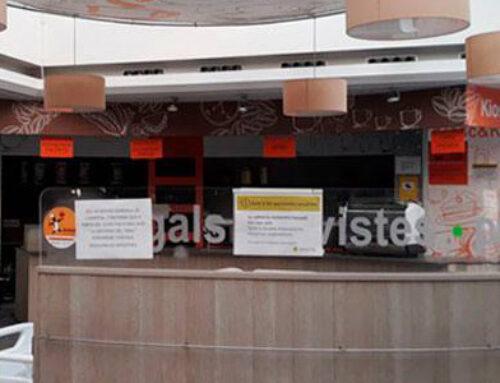 L'Hospital de Calella entra a la nova normalitat obrint la cafeteria