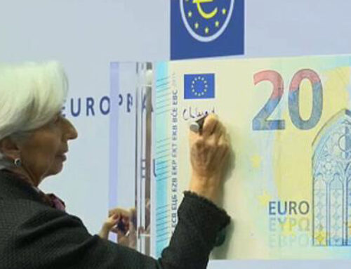 A partir de demà circularan els primers bitllets d'euro firmats per una dona