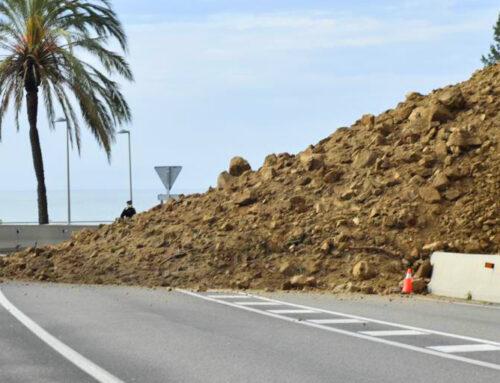 La Generalitat arreglarà la zona de la corba del Far perquè no es produeixin més esllavissades