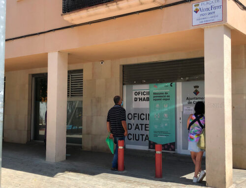 Deixa de funcionar l'oficina de denúncies de la Plaça Vicenç Ferrer