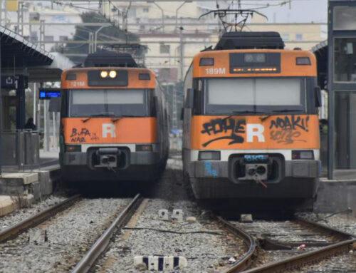 Es redueix la freqüència de trens de la R1 a causa de les obres a La Sagrera