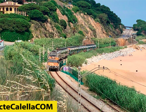 Un atropellament entre Sant Pol i Calella obliga a aturar la circulació de trens