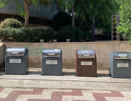 L'Ajuntament fa netejar els contenidors amb aigua a pressió