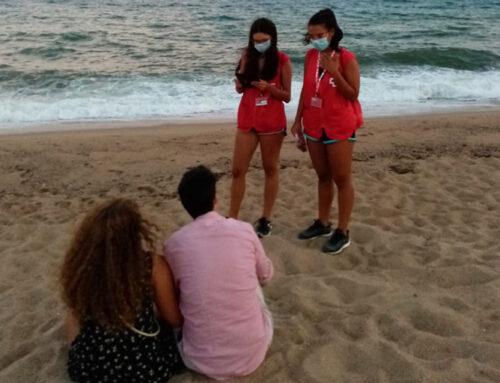 Els joves de la Creu Roja ajuden a aplanar la corba d'aquesta segona onada de covid-19