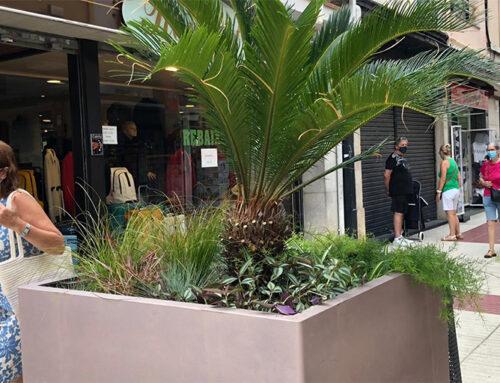 Les noves jardineres del carrer Església agraden més que els blocs de formigó