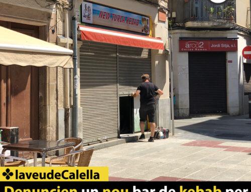 Denuncien un nou bar de kebab per llençar la runa de les obres a la platja