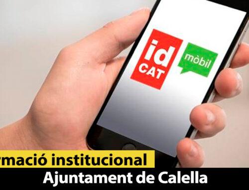 L'Ajuntament ofereix una formació gratuïta en l'ús del certificat digital, la signatura electrònica, l'IdCat Mòbil i els tràmits en línia