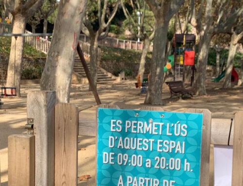 Restriccions horàries als parcs infantils