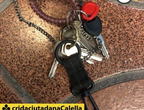 Trobades aquestes claus a prop del Parkinsol