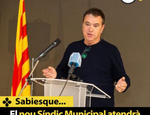 El nou Síndic Municipal atendrà amb cita prèvia a Can Saleta