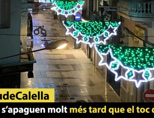 Els llums nadalencs s'apaguen mes enllà de les 22h