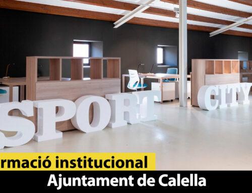 Calella crea un espai per impulsar projectes empresarials vinculats a l'esport
