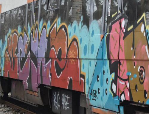 Netejar els grafits dels trens costa 6,5M d'euros a l'any