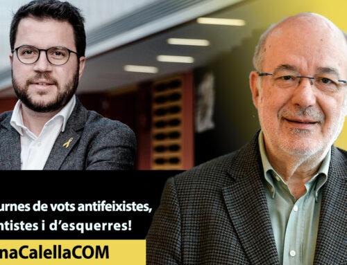 Omplim les urnes de vots antifeixistes, independentistes i d'esquerres!