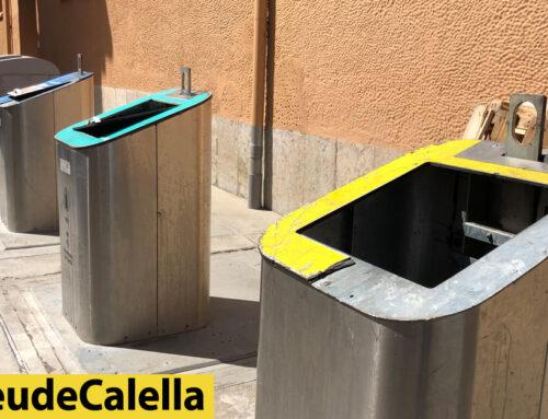 Els contenidors nous instal·lats al mercat ja estan trencats