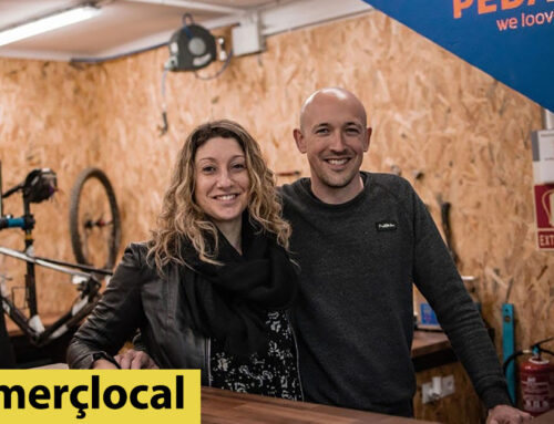 Una parella dedicada al turisme regenta una nou taller de bicicletes a Calella