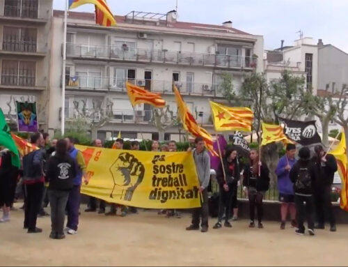 """""""Unim-nos"""", el crit dels sindicats per demà 1 de maig a la Plaça Catalunya"""