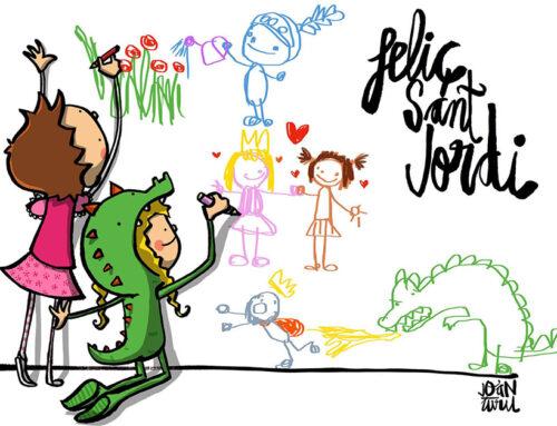 La Biblioteca organitza un concurs d'escriptura i il·lustració per Sant Jordi i Santa Jordina
