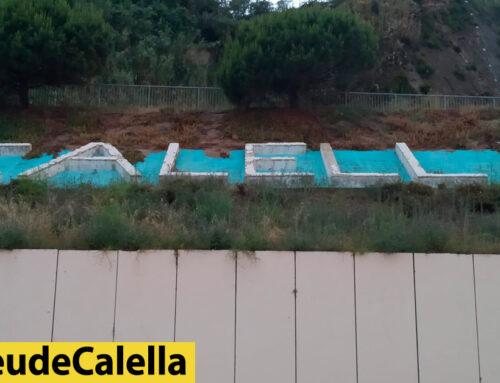 """Renovació del cartell de """"Calella"""""""