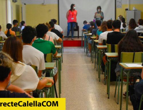 124 alumnes de Calella comencen avui la Selectivitat al Bisbe Sivilla