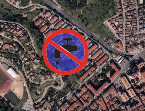 Noves fuites d'aigua als edificis de la plaça Bartomeu Barceló i a les cases unifamiliars