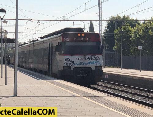 Atropellament mortal a l'estació de tren de Calella