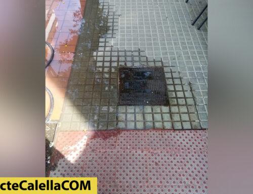 Nova fuita d'aigua, ara al carrer Balmes