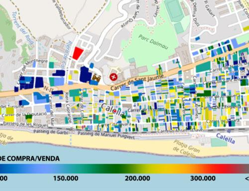 La zona més cara de Calella està al voltant de l'estació